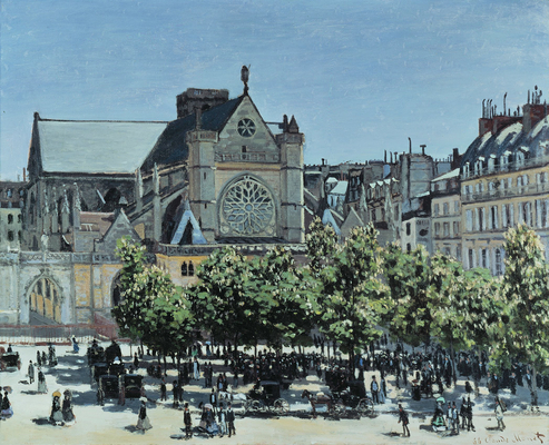 Claude Monet - St. Germain l'Auxerrois a Paris.jpg
