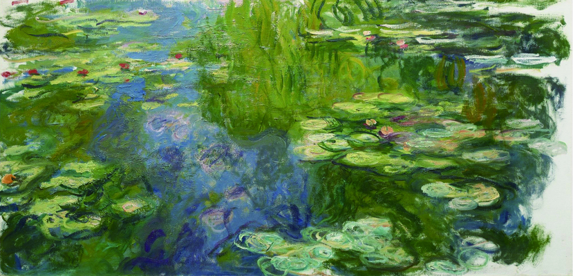 Claude Monet - The Pool with Waterlilies, 1917-19.jpg