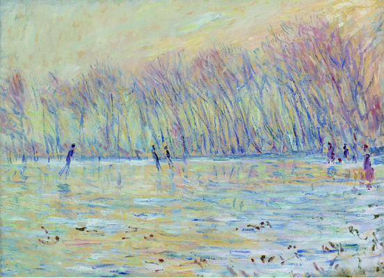 Claude Monet - The Skaters at Giverny, 1899.jpg