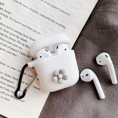 for apple airpods case 3d candy color cute art flowers bluetooth