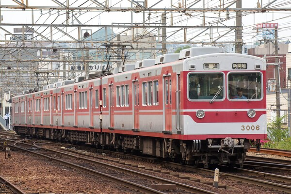 kobe electric railway series 3000,(神戸电鉄3000系电车)