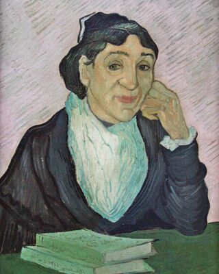 L'Arlesienne, Portrait of Madame Ginoux, 1890 02