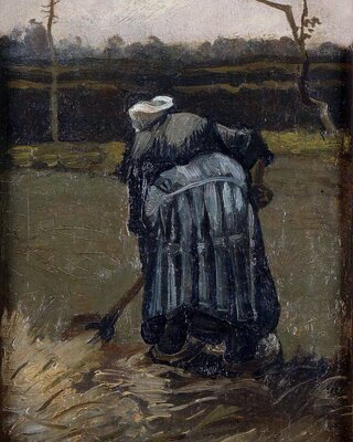 Peasant Woman by the Digging, 1885