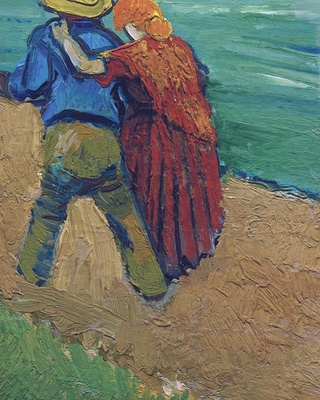 A Pair of Lovers, Arles, 1888 (Sotheby`s version)