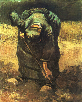 Peasant Woman Digging, 1885 01