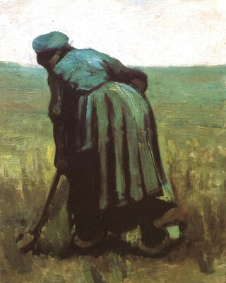 Peasant Woman Digging, 1885 02