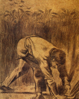Reaper with Sickle (after Millet), 1881