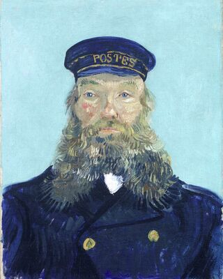 Portrait of the Postman Joseph Roulin, 1888