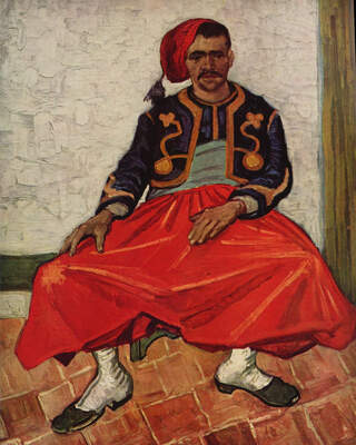 Seated Zouave, 1888 01
