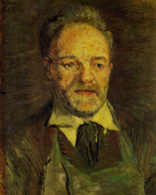 Portrait of Pere Tanguy, 1886-87