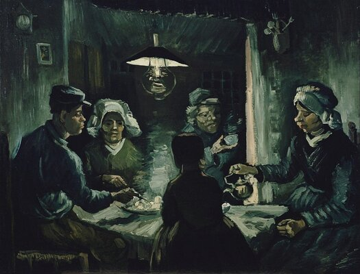 The Potato Eaters, 1885 02