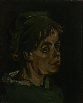 Head of a Woman, 1885 08