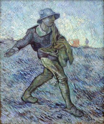 Sower (after Millet), 1889