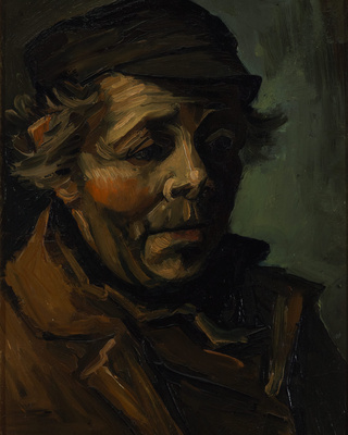 Head of a Peasant (Study for the Potato Eaters), 1885