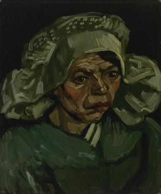 Head of a Woman, 1885 09