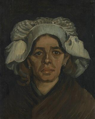 Peasant Woman, Portrait of Gordina de Groot, 1885