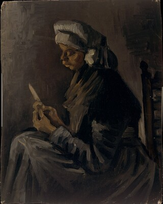 The Potato Peeler, 1885