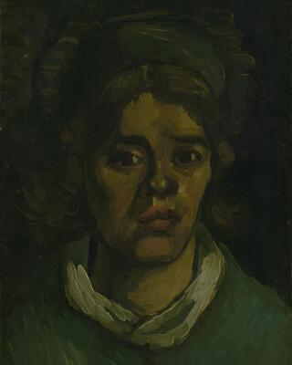 Head of a Woman, 1885 06