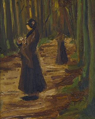 Two Women in a Wood, 1882