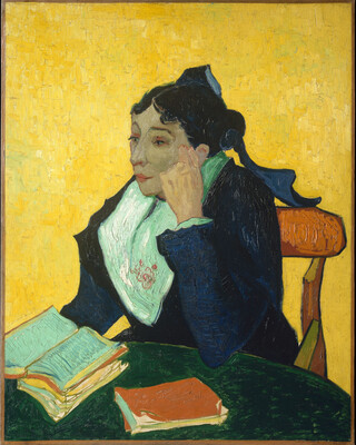 L'Arlesienne, Portrait of Madame Ginoux, 1888-89