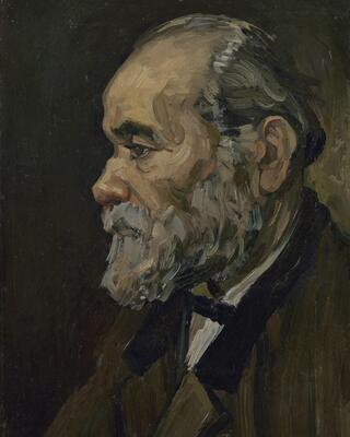 Portrait of an Old Man with a Beard, 1885
