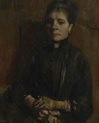 Portrait of a Woman Seated, 1886 1