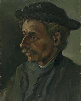 Head of a Man, 1885 02