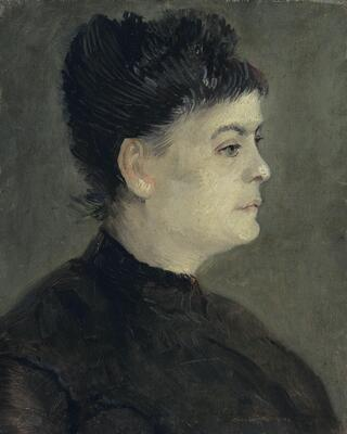 Portrait of Agostina Segatori, 1887