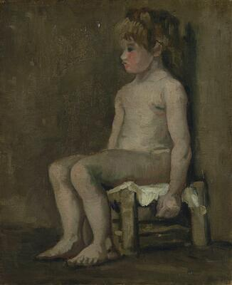 Study of a Nude Girl, 1886