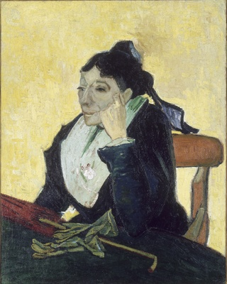 L'Arlesienne, Portrait of Madame Ginoux, 1888