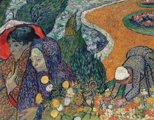 Memory of the Garden at Etten (Ladies of Arles), 1888