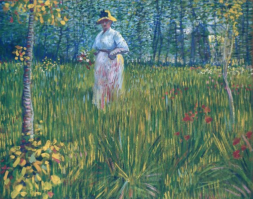 Woman in the Garden, 1887