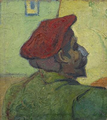 Paul Gauguin (Man in a Red Beret), 1888