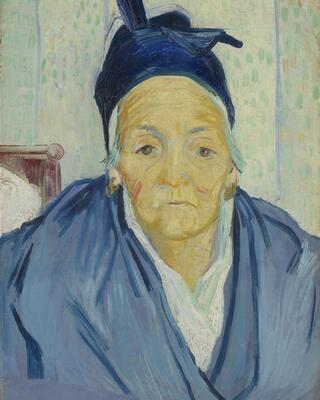 An Old Woman of Arles, 1888