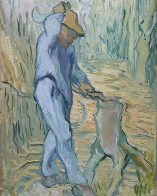 The Woodcutter (after Millet), 1890