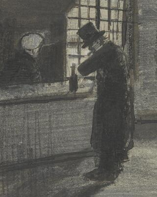 Man in a Village Inn, 1883