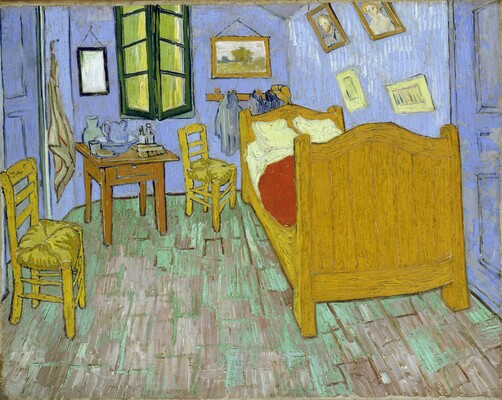 Vincent's Bedroom in Arles, 1889