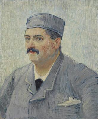 Portrait of a Restaurant Owner, Possibly Lucien Martin, 1887
